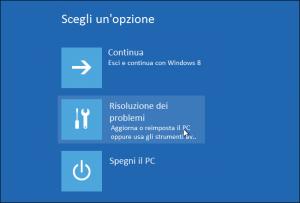 windows provvisoria accesso